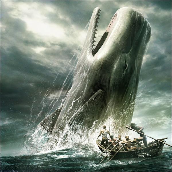 Quelle baleine monstrueuse est recherchée par le capitaine Achab, à qui l'animal a arraché une jambe dans le passé ?