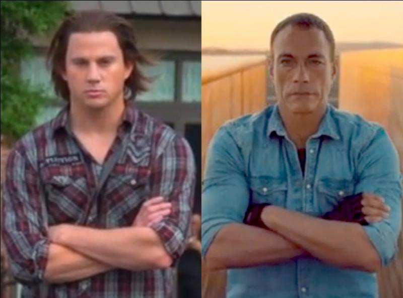 Reconnais-tu l'acteur qui imite Jean-Claude Van Damme ?