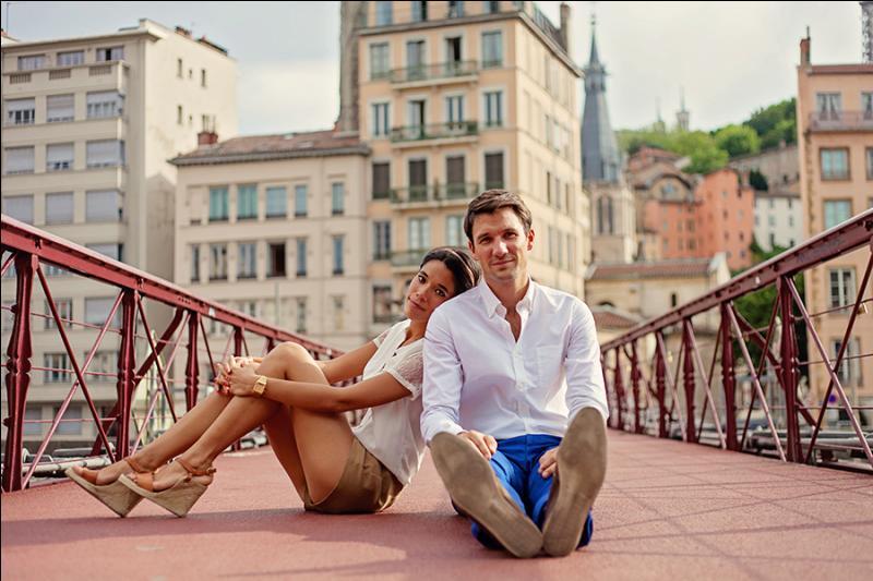 Ce matin, j'ai visité la ville de Lyon avec mon amie Lou.
