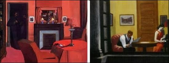 A-t-il peint la chambre de droite ou de gauche ?