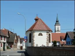 Krautergersheim, capitale de la choucroute, se trouve ...