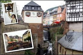 Je vous emmène visiter la ville de Saarburg. Dans quel pays serons-nous ? (l'orthographe devrait vous aider).