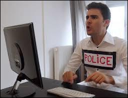 Dans quelle vidéo Cyprien se rend-il au commissariat ?