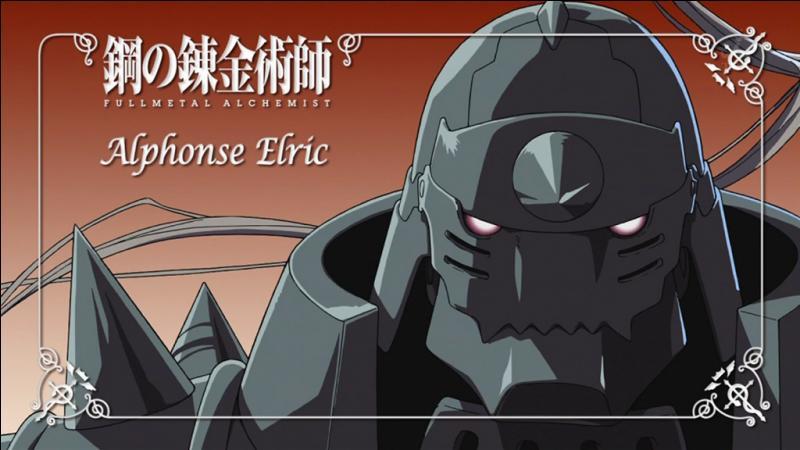 Pourquoi Alphonse porte-t-il une armure ?