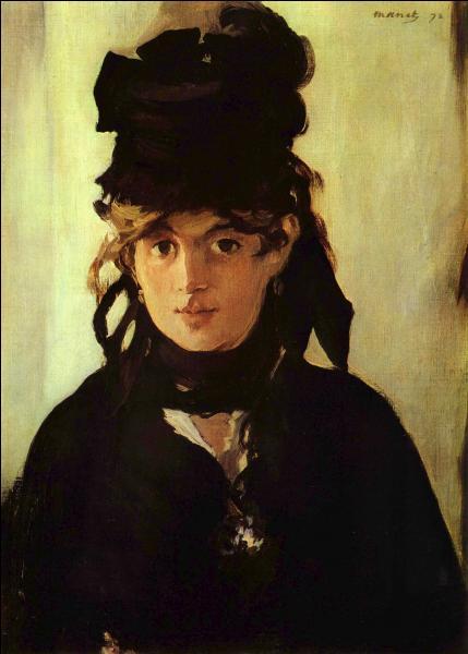 Berthe Morisot ( 1841-1895 ) a su s'imposer dans ce monde masculin. Cochez l'affirmation fausse.