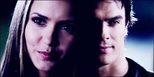 La romance entre Damon et Elena se nomme...