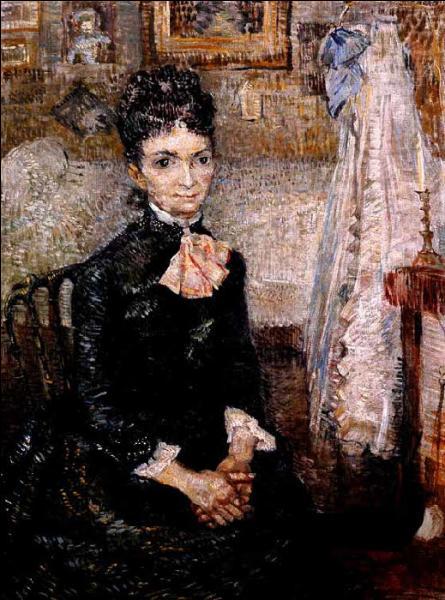 Qui a peint Femme près d'un berceau ?