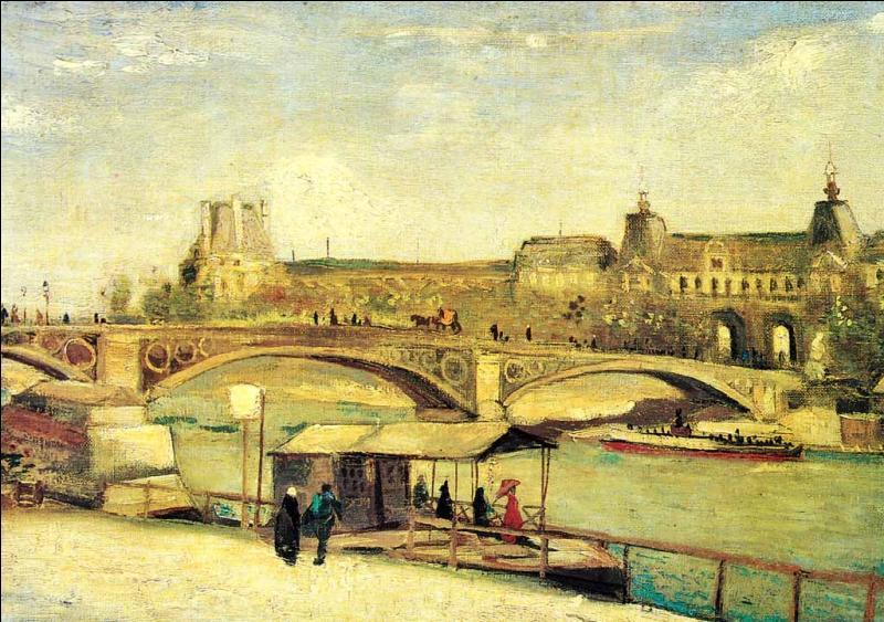 Qui a peint Le pont du Carousel et le Louvre ?
