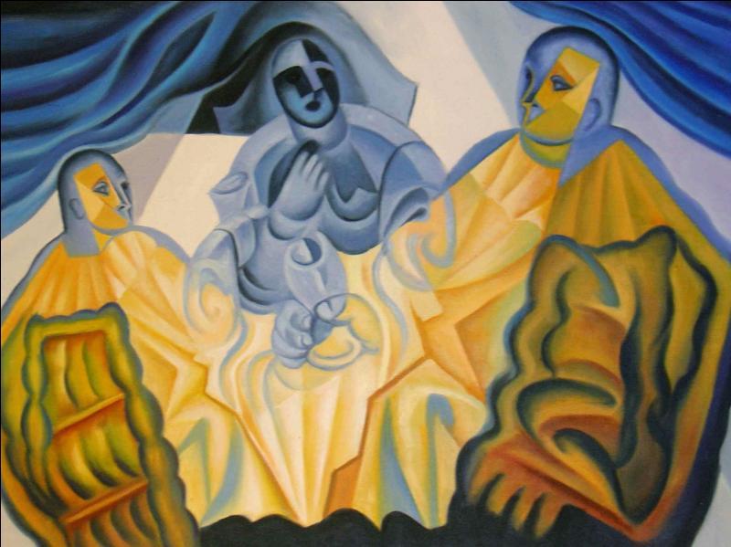 Qui a peint Les trois masques ?