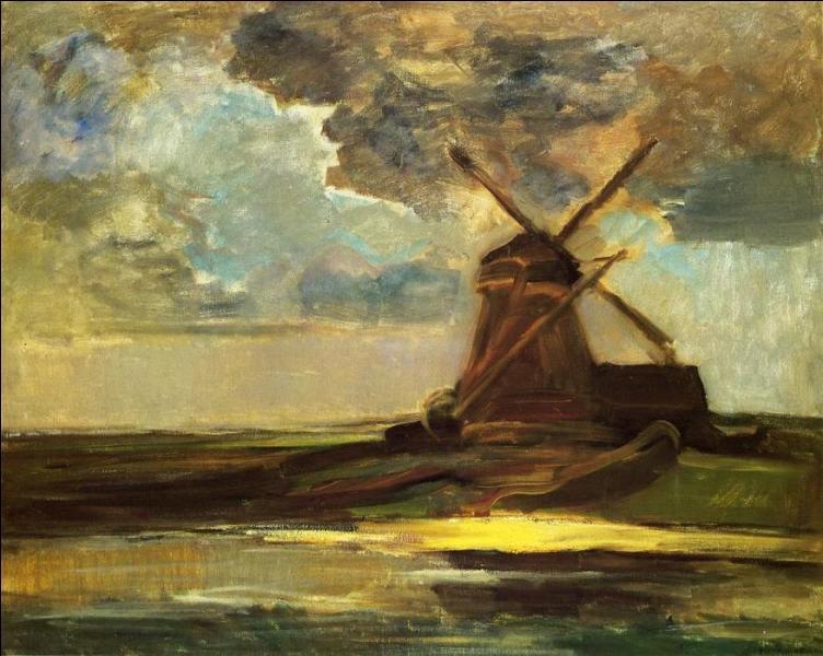 Qui a peint Moulin sur le Gein ?