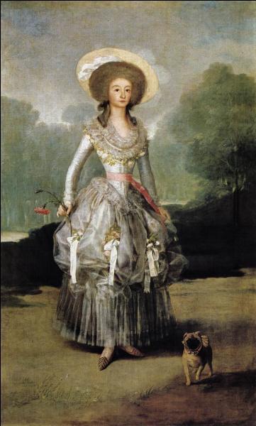 Qui a peint La marquise Maria de Pontejos ?