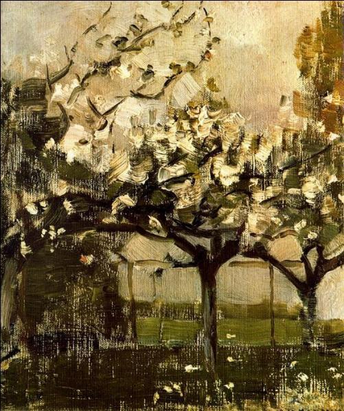 Qui a peint Les arbres ?