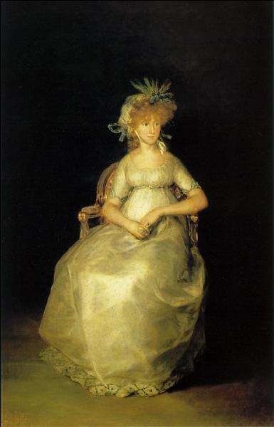 Qui a peint La comtesse de Chichon ?