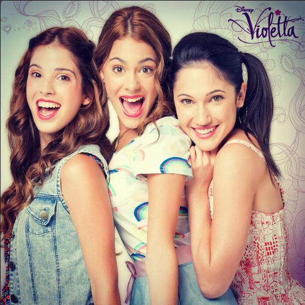 Comment s'appellent les meilleures amies de Violetta ?