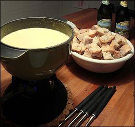 Quel est le nom de cette fondue à base de vacherin ?