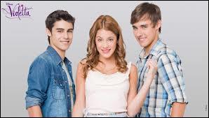 Qui est le premier petit copain de Violetta ?
