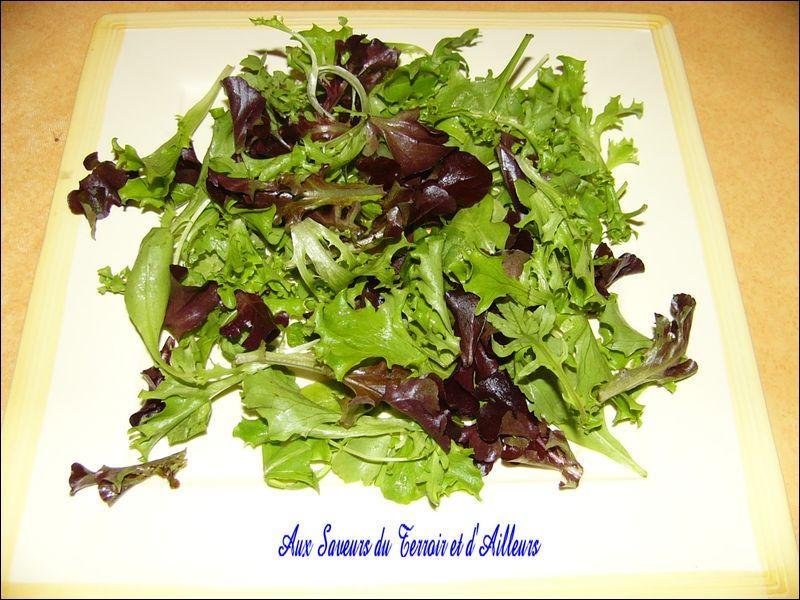 Vous n'échapperez à la salade avec :