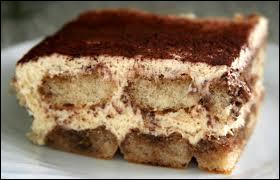 On nous apporte le dessert, de quoi s'agit-il ?