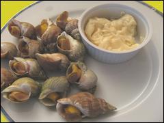 Comme il restait de la mayonnaise, nous servons quelques ...