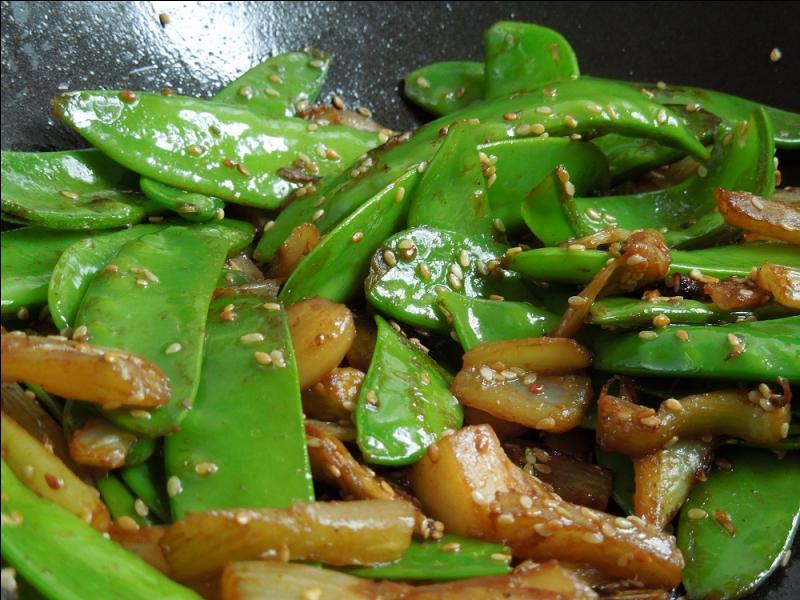 Le plat de légumes se composera de :