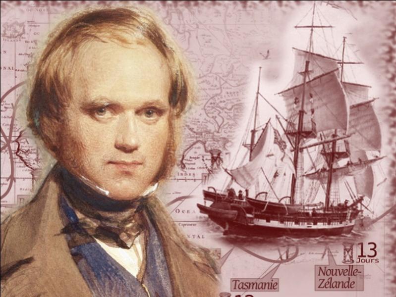 Sur quel bateau le naturaliste Charles Darwin embarqua-t-il pour un tour du monde qui durera cinq années, en 1831 ?