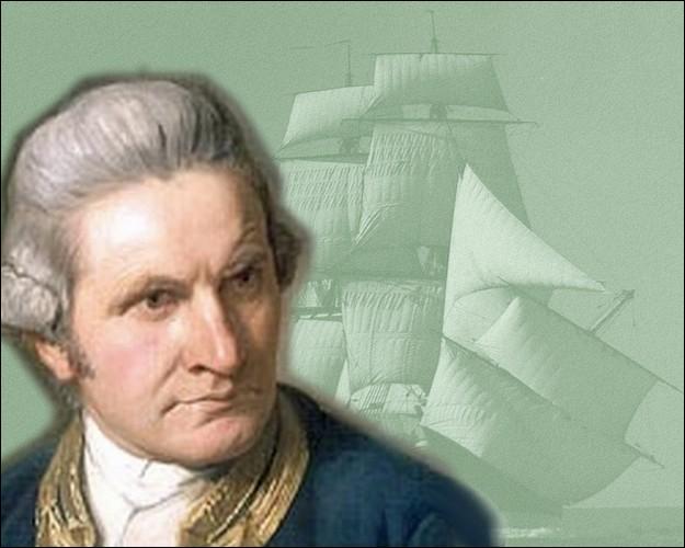 Ce grand navigateur, explorateur et cartographe britannique sera le premier européen le 20 avril 1770, à poser les pieds sur la côte orientale de l'Australie ...