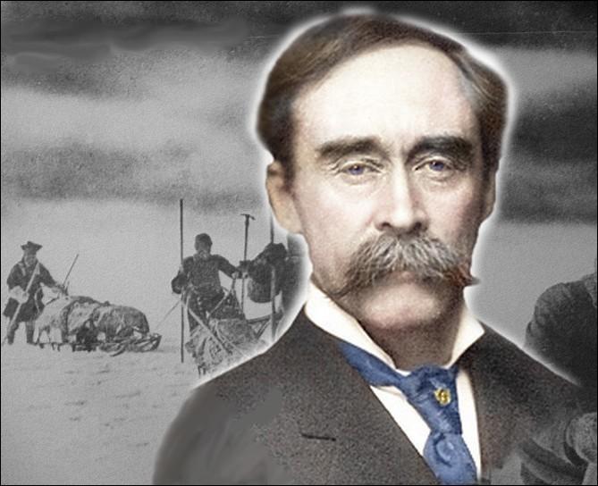 Le 6 avril 1909, cet explorateur américain aurait conduit la première expédition a atteindre le pôle Nord en traîneau à chiens...