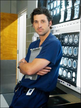Dr. Shepherd sort avec Meredith et il est ...