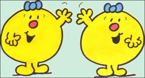 En Doubloslavie, tout le monde dit : 'bonjour-jour, merci-ci, au revoir-voir'. Je suis ... puisque j'ai une sœur jumelle !