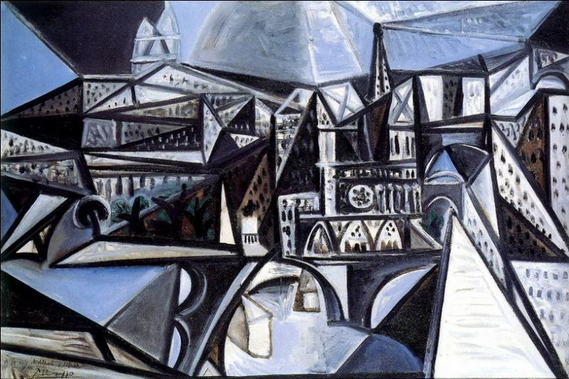 Quel célèbre peintre cubiste est l'auteur de  Vue de Notre-Dame de Paris  , réalisée en 1945 ?