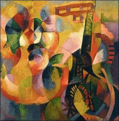 Ce peintre avant-gardiste, ayant beaucoup travaillé sur la couleur, est à l'origine du mouvement orphique, branche du cubisme qui voit le jour au début du 20e siècle. On lui doit  Avion Tour Eiffel et soleil , peint en 1916. Qui est-il ?