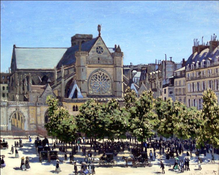 L'impressionnisme doit son nom à l'un de ses tableaux les plus connus. Quel est ce peintre, auteur de  Saint-Germain l'Auxerrois , réalisé en 1867 ?
