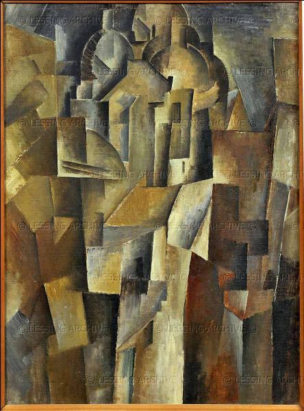 A quel peintre cubiste, influencé à ses débuts par le fauvisme, doit-on  Sacré-Coeur de Montmartre , réalisé en 1910 ?