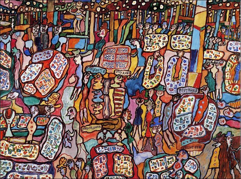 Très Quizz Promenade dans Paris avec les peintres (1) - Quiz Peintres  LN14