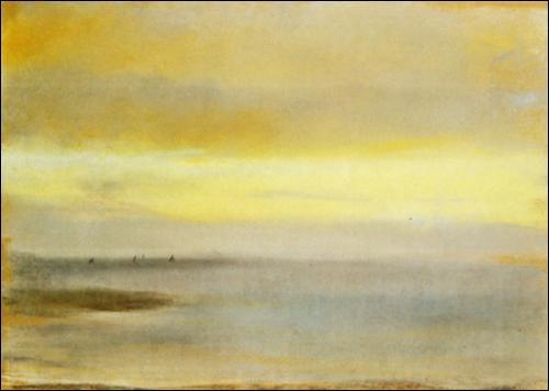 Qui a peint Marina Coucher de soleil ?