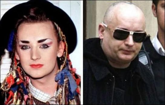Le chapeau melon n'est plus aux bonnes mesures, souvenez-vous de Boy George et de  Do you really want to hurt me  !