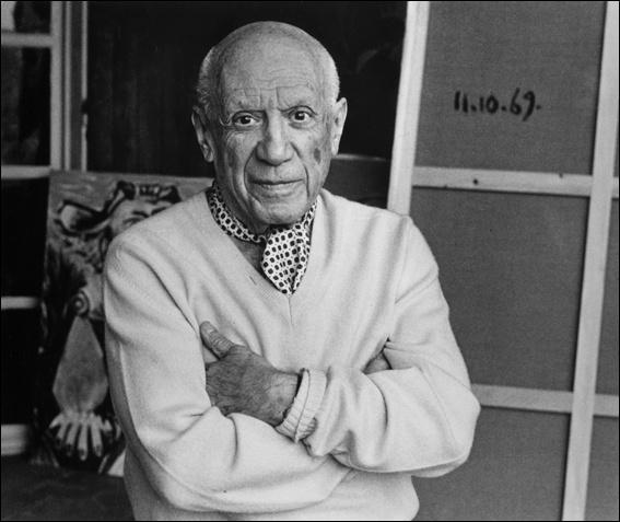 Pablo Picasso, peintre de génie.  Les demoiselles d'Avignon ,  Guernica  ...