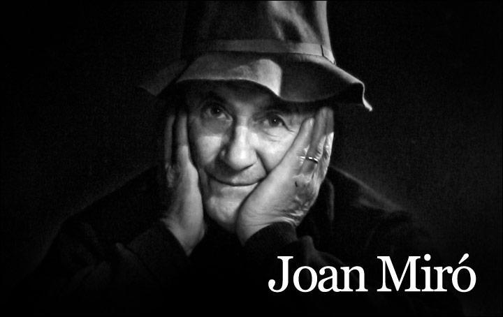 Joan Miro, peintre cubiste.