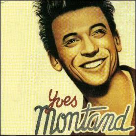 Yves Montand, acteur et chanteur.  Z ,   À bicyclette ...