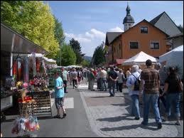 Nous partons à Berghaupten, ville située ...