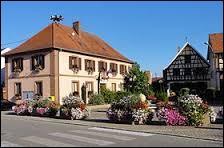 Voici une commune au nom très long. Niederschaeffolsheim est une commune située ...