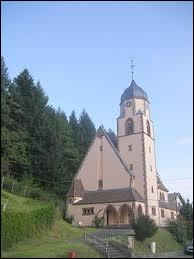 Voici l'église du village de Philippsbourg. Orthographié de cette façon, le village se situe...