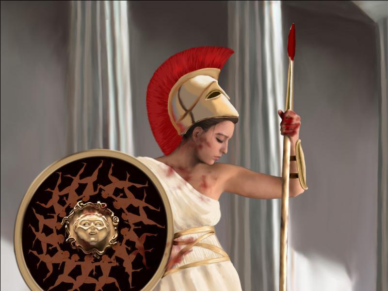 Athéna est la déesse :