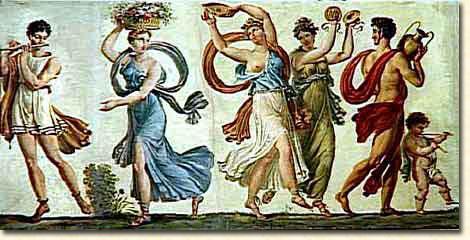 Les dieux de la Grèce antique