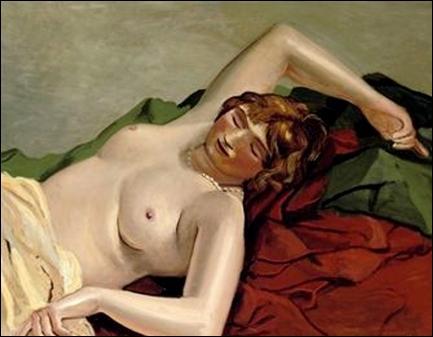 Matisse toile femme nue
