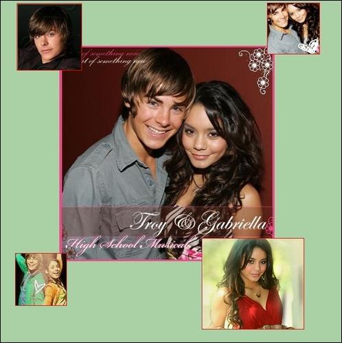 Comment Troy et Gabrella se sont'ils rencontrés?