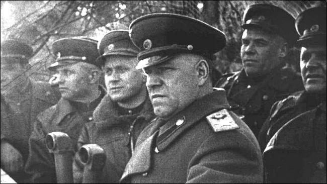 Joukov a sauvé l'Union Soviétique lors de la bataille de ...