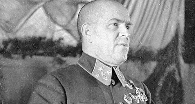 Le maréchal Gueorgui Joukov