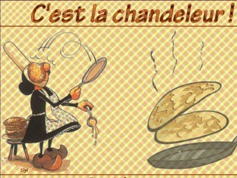 Quand fête-t-on, actuellement, la Chandeleur ?