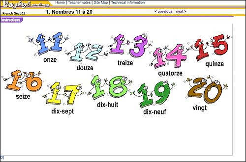 Utiliser le nombre bleu foncé vous permettra  d'inscrire  la bonne réponse !
